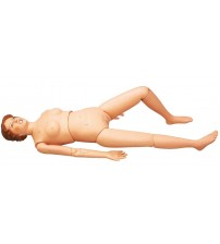 MULTIFUNCTION PATIENT CARE FEMALE NURSING MANIKIN (DUMMY SOFT)