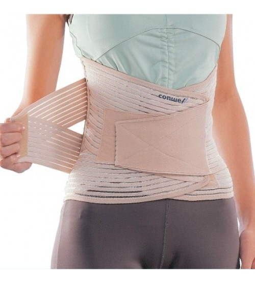 "SUPER SACRO LUMBAR SUPPORT WITH BACK PAD 12"" 5504"