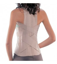 SPINAL BRACE WITH BACK PAD 5505