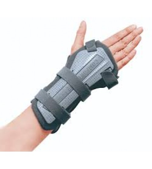 "PLASTIC WRIST SPLINT 7"" 53220 RIGHT CONWELL TAIWAN"