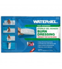 "WATER GEL BURN DRESSING 8"" X 22"" ( 20CM X 55CM ) USA"
