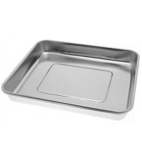 INSTRUMENTS TRAY STAINLESS STEEL WITHOUT LID 14 X 18