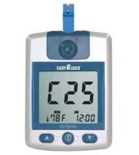 GLUCOMETER EASYGLUCO AUTO-CODING ( with 25 strips )