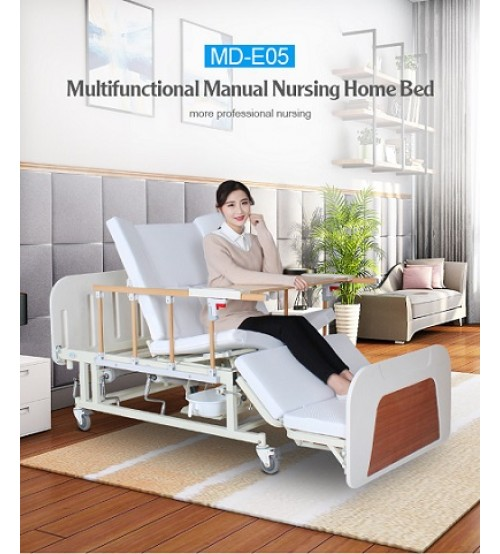 MANUAL NURSING HOME MULTIFUNCTION BED MD-E05 CHINA