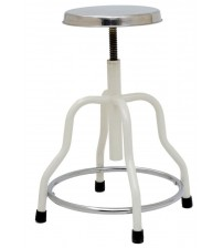 PATIENT STOOL - STAINLESS STEEL TOP
