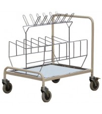 BED PAN TROLLEY