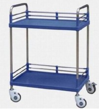 INSTRUMENT TROLLEY ABS WITHOUT DRAW BT-141 CHINA