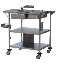 DRESSING TREATMENT TROLLEY