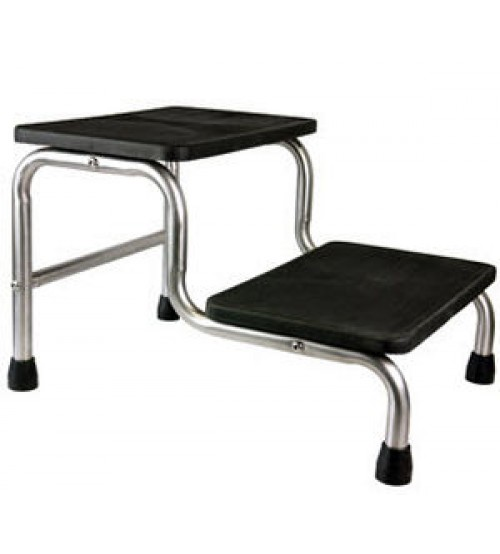 FOOT STEP DOUBLE STAINLESS STEEL QMED PAKISTAN