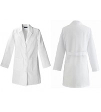 LAB COAT K.T WHITE FEMALE MEDIUM