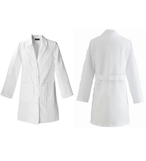 LAB COAT K.T WHITE FEMALE SMALL