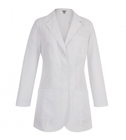 LAB COAT K.T WHITE MALE LARGE