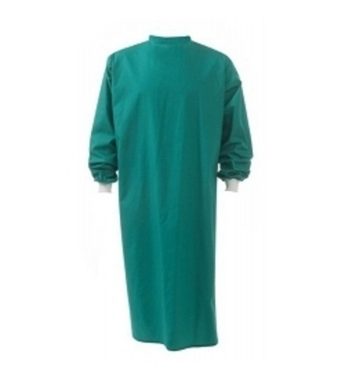 O.T GOWN GREEN COTTON  MALE / FEMALE