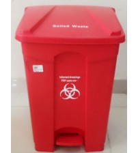 BIOHAZARD WASTE BIN PEDAL OPERATED 45LTR CHINA