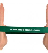 MSD BAND LOOP HEAVY GREEN 28cm