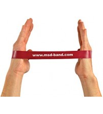 MSD BAND LOOP MEDIUM RED 28cm