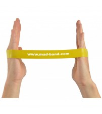 MSD BAND LOOP THIN YELLOW 28cm