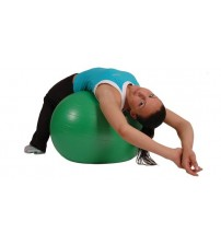 MAMBO MAX AB GYM BALL - 65 CM - GREEN - FASTER BLASTER PUMP