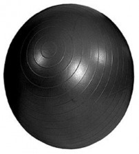 MAMBO MAX AB GYM BALL - 85 CM - BLACK - FASTER BLASTER PUMP