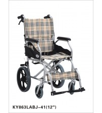 "WHEEL CHAIR KY 863LABJ-A 12"" KAIYANG MEDICAL CHINA"