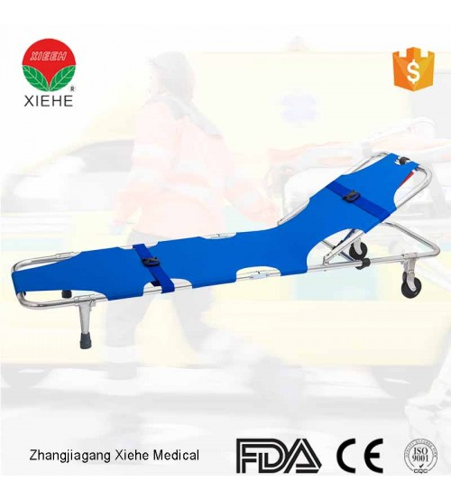 STRETCHER 2 FOLD WITH 2 WHEEL YXH-1A3 CHINA