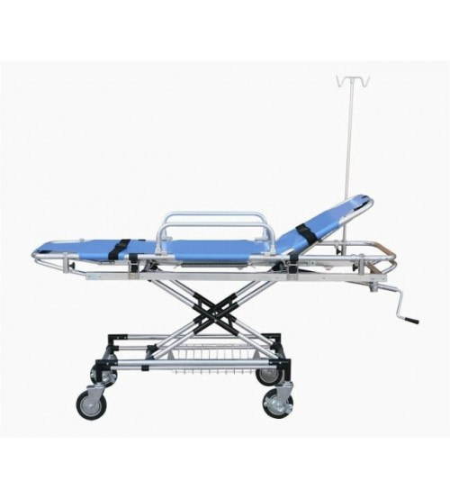 EMERGENCY BED STRETCHER TROLLEY