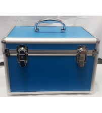 FIRST AID BOX ALUMINIUM BLUE  MEDIUM CHINA